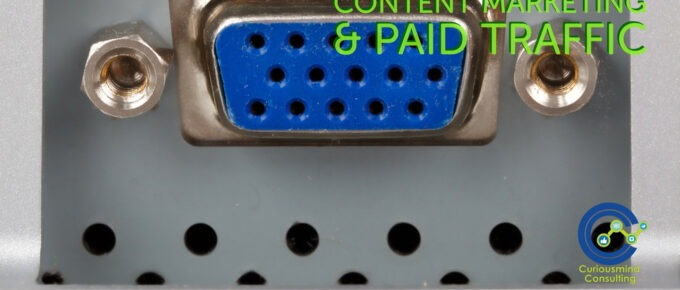 content marketing & paid traffic